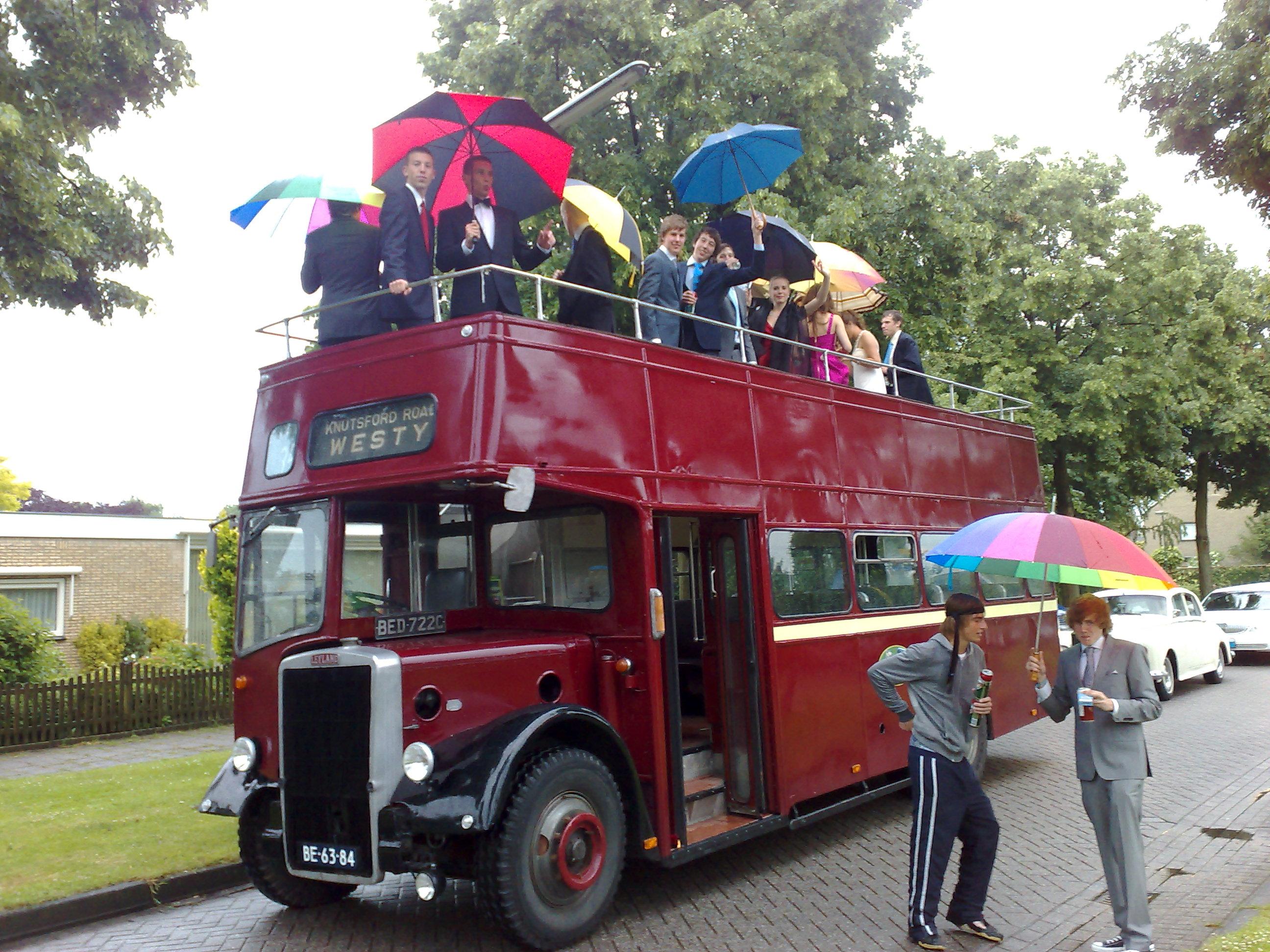 Gala vervoer 10 personen