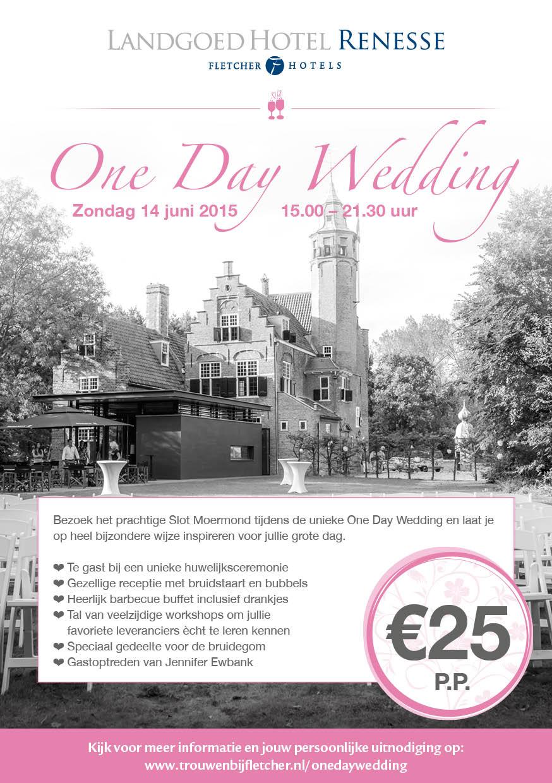 One Day Wedding, win bij ons kaarten voor dit unieke event! - Trouwteam
