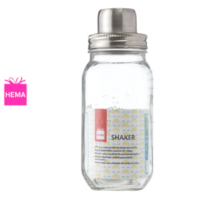 Mason cocktail shaker van Hema