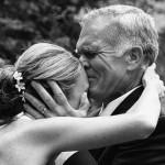 De papa van de bruid